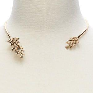 Banana Republic Open Collar Necklace